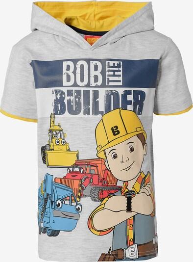 BOB DER BAUMEISTER T-Shirt mit Kapuze in grau, Produktansicht