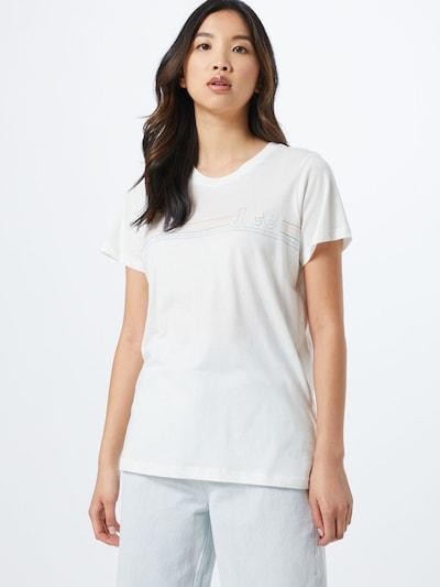 Lee Koszulka 'PRIDE TEE' w kolorze białym: Widok z przodu