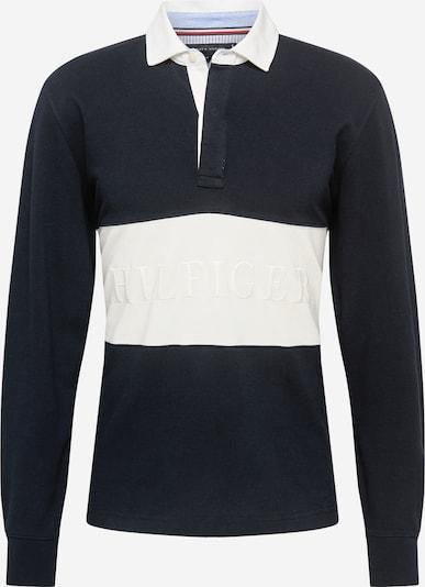 TOMMY HILFIGER Poloshirt 'Rugby' in marine / weiß, Produktansicht