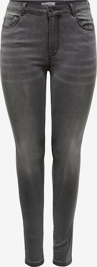 ONLY Carmakoma Curvy Caraugusta Life HW Skinny Fit Jeans in grau / dunkelgrau, Produktansicht