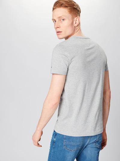 TOMMY HILFIGER Shirt 'TOMMY LOGO TEE' in grau: Rückansicht