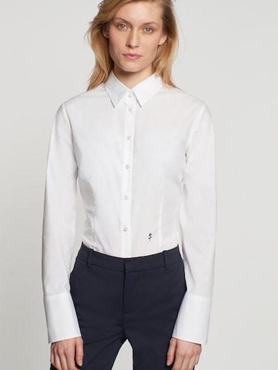 SEIDENSTICKER Blusenbody in weiß, Modelansicht