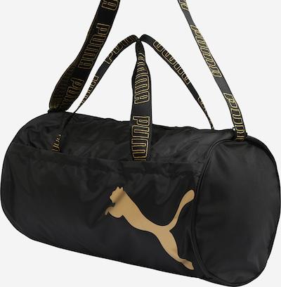 PUMA Sporttasche in gold / schwarz, Produktansicht