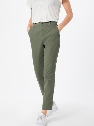 GAP Chino 'GIRLFRIEND' in de kleur Groen, Modelweergave