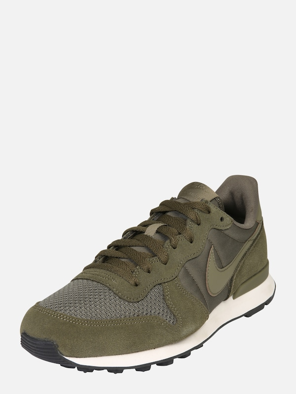 nike internationalist olijfgroen