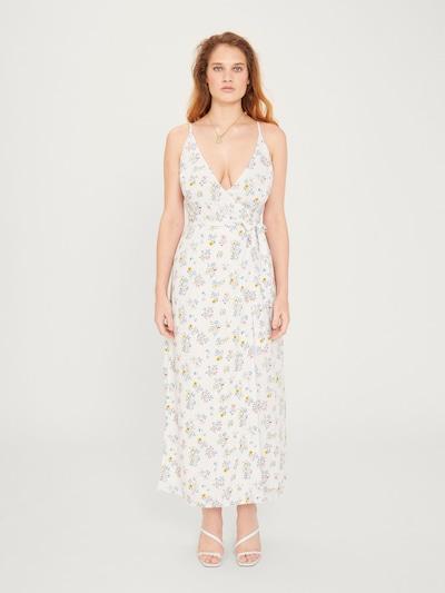 EDITED Kleid 'Roslyn' in blau / gelb / weiß, Modelansicht