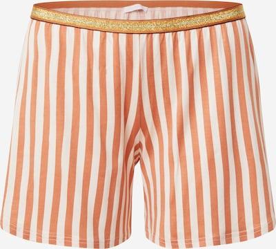 Mey Kratke hlače za spanje 'Stacy' | bronasta / bela barva, Prikaz izdelka