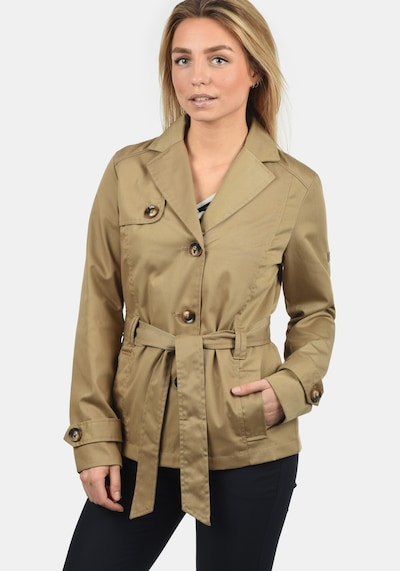 Desires Trenchcoat 'Trixie' in sand, Modelansicht