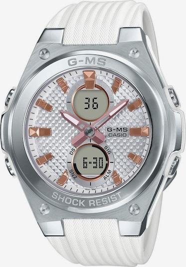 CASIO Uhr 'MSG-C100-7AER' in silbergrau / weiß, Produktansicht