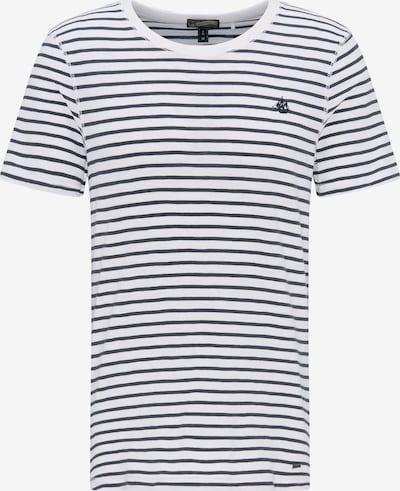 DREIMASTER Herren Ringel-Shirt in marine, Produktansicht