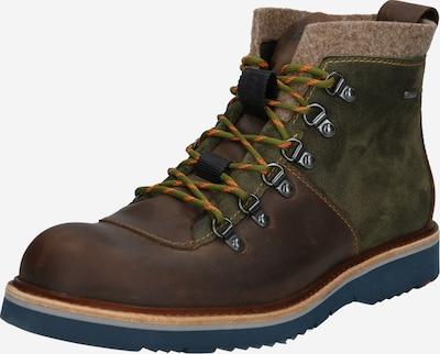 LLOYD Boots 'Van' in dunkelbraun / oliv, Produktansicht
