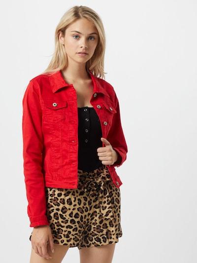 Hailys Prechodná bunda 'Enny' - červená: Pohľad spredu