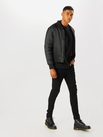 LEVI'S Jeans 'SKINNY TAPER' in schwarz