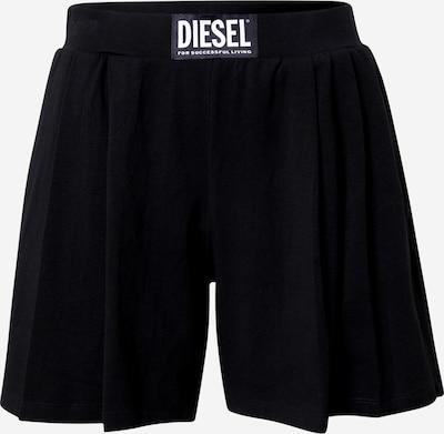 DIESEL Pantalon de pyjama en noir, Vue avec produit