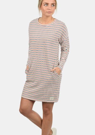 DESIRES Sweatkleid 'Helena' in nachtblau / dunkelorange / weiß, Modelansicht