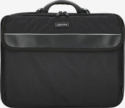 Lightpak Aktentasche 'Corniche' in schwarz, Produktansicht