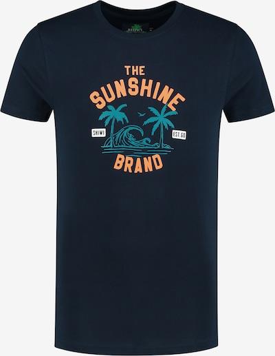 Shiwi Shirt in blau: Frontalansicht