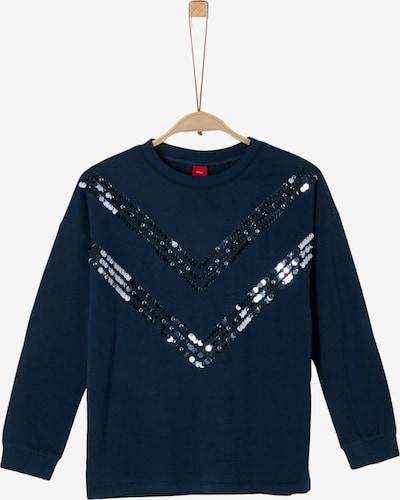 Marškinėliai iš s.Oliver Junior , spalva - tamsiai mėlyna, Prekių apžvalga