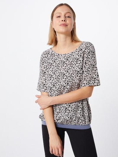 LIEBLINGSSTÜCK Bluzka 'RejaneL' w kolorze czarny / białym, Podgląd na modelu(-ce)