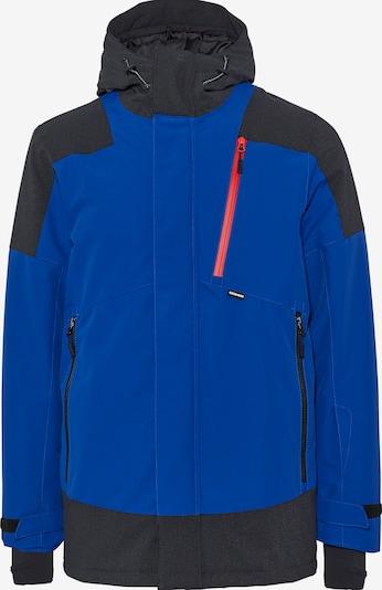 CHIEMSEE Sportjacke in blau / schwarz: Frontalansicht