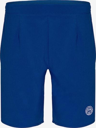 BIDI BADU Shorts Henry 2.0 Tech mit Markenlogo am Bein in blau, Produktansicht