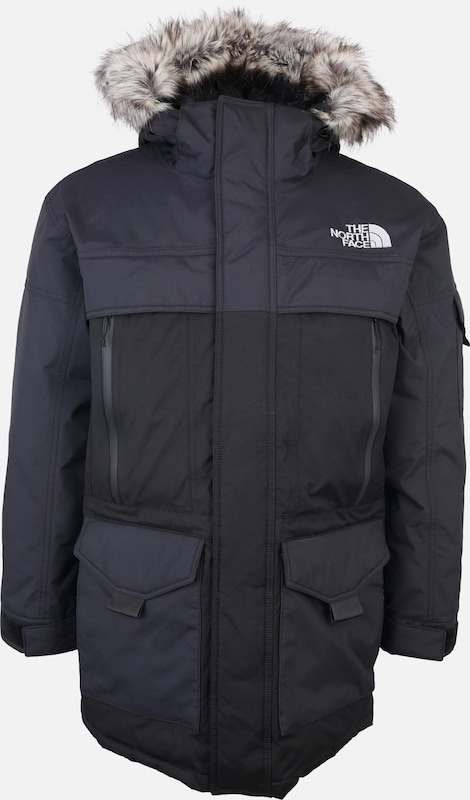 THE NORTH FACE Outdoorjas 'MURDO' in de kleur Donkergrijs: Vooraanzicht