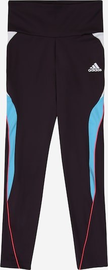 ADIDAS PERFORMANCE Pantalon de sport en rose / noir / blanc, Vue avec produit