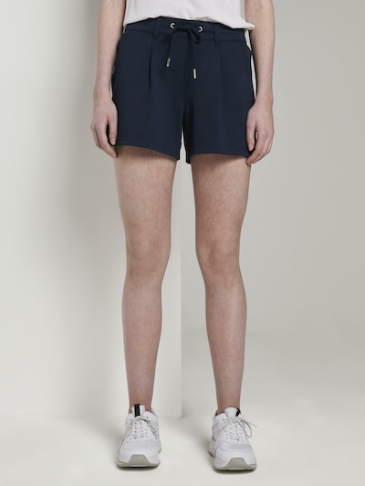 TOM TAILOR DENIM Shorts in blau, Modelansicht