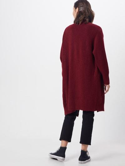 Farina Opoku Kardigan 'Nandini' w kolorze czerwone winom: Widok od tyłu