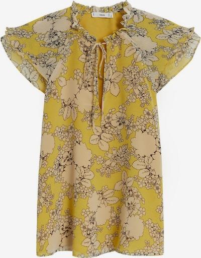 MANGO Chemisier en beige / jaune, Vue avec produit