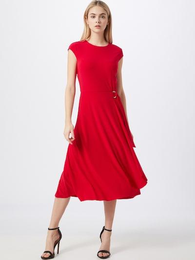 piros Lauren Ralph Lauren Estélyi ruhák 'FRAN-CAP SLEEVE-DAY DRESS', Modell nézet