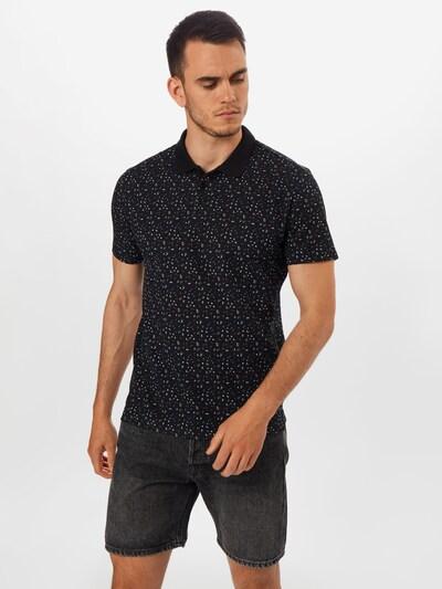 JACK & JONES T-Shirt en noir: Vue de face