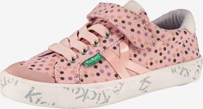 KICKERS Sneaker 'Gody' in dunkelbraun / helllila / koralle / altrosa / weiß, Produktansicht