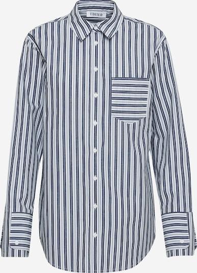 EDITED Bluse 'Laurena' in navy / weiß, Produktansicht