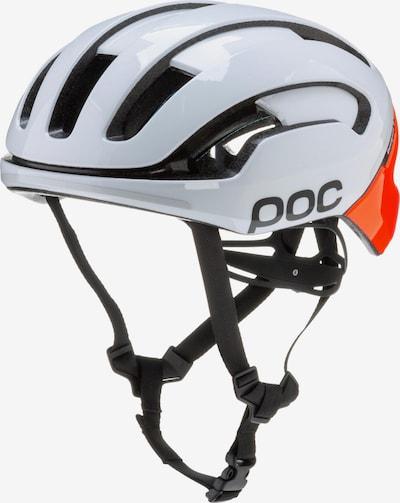 POC Fahrradhelm 'Omne Air Spin' in orange / weiß, Produktansicht