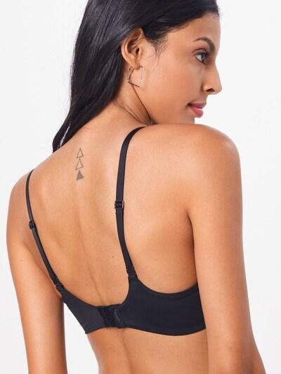 Sutien Calvin Klein Underwear pe negru: Privire spate