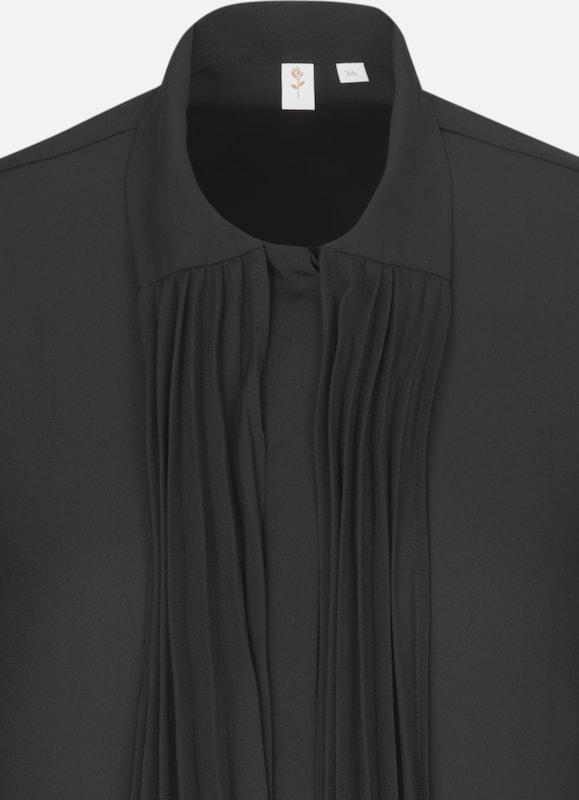 SEIDENSTICKER SchluppenBlause ' Schwarze Rosa ' in in in schwarz  Freizeit, schlank, schlank 8cfbe3