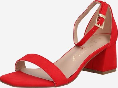 Sandale 'ZANIEL' NEW LOOK pe roșu: Privire frontală