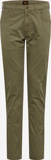 Lee Hose 'Daren Zip Fly' in dunkelgrün, Produktansicht