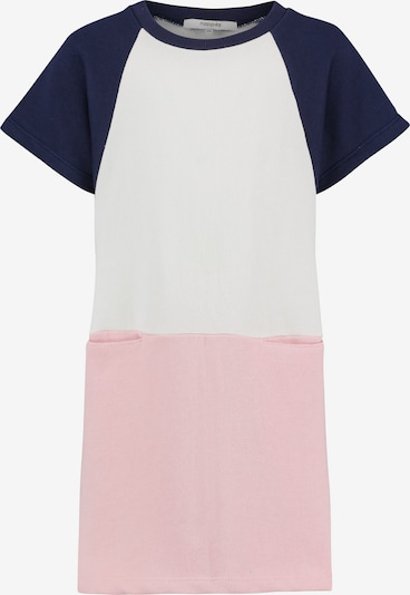 Noppies Kleid 'Ralston' in kobaltblau / altrosa / weiß, Produktansicht
