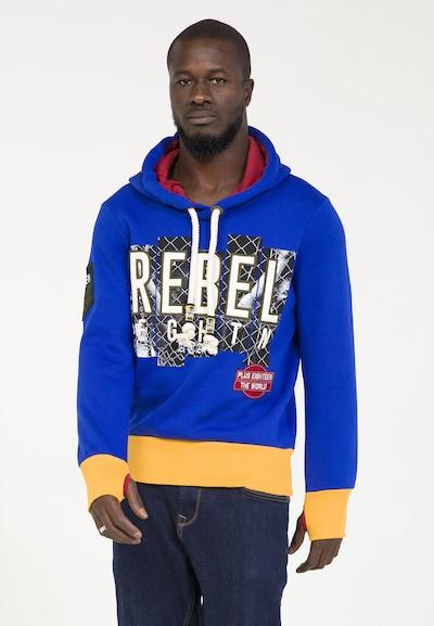 PLUS EIGHTEEN Sweat-shirt en bleu, Vue avec produit