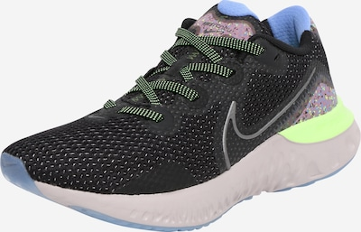 NIKE Schuh 'Renew Run Special Edition' in blau / neongelb / lila / schwarz, Produktansicht