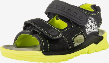 RICOSTA Sandals & Slippers 'Soccer' in Black