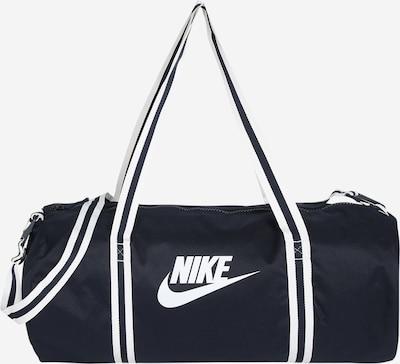 tengerészkék / fehér Nike Sportswear Utazótáska 'Heritage', Termék nézet