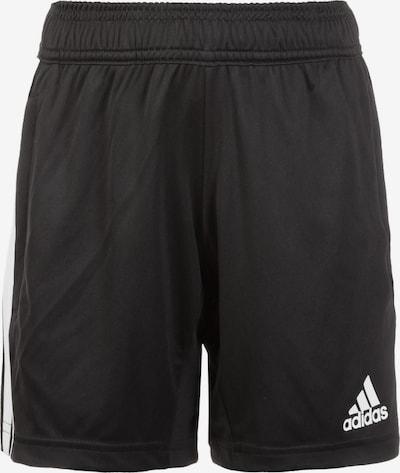 ADIDAS PERFORMANCE Sportshorts 'Tiro' in schwarz / weiß, Produktansicht