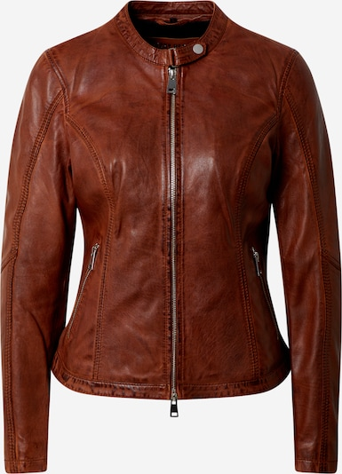 FREAKY NATION Lederjacke 'New Tula' in cognac, Produktansicht
