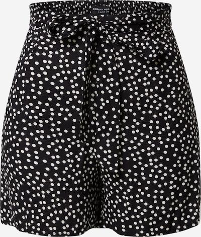 Dorothy Perkins Shorts 'Mono Spot Tie' in schwarz / weiß, Produktansicht