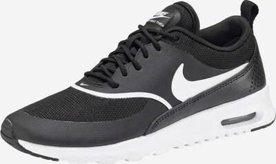 Nike Sportswear Sneaker 'Air Max Thea' in schwarz / weiß: Frontalansicht