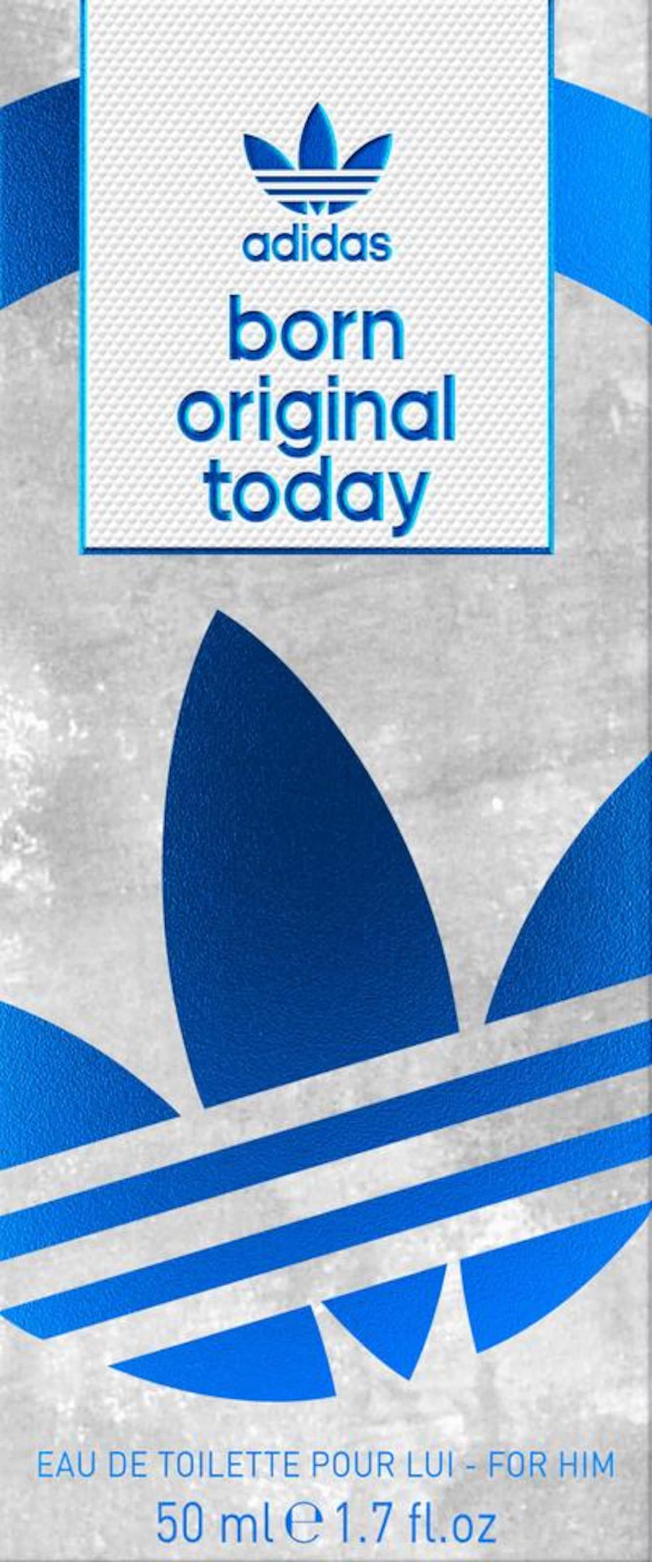 Adidas Originals De Eau Silber Him' Toilette 'born In BlauAqua Original Today For lJFK1c