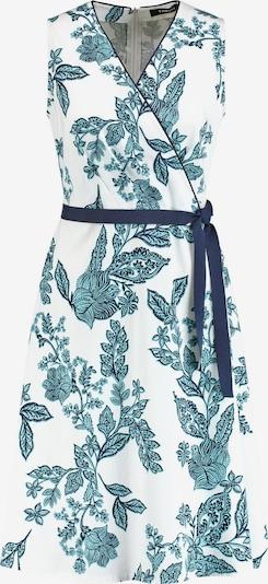 TAIFUN Kleid Langarm kurz Ärmelloses Sommerkleid in türkis, Produktansicht